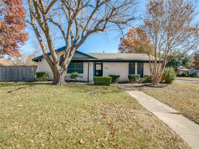 1210 Wisteria Way, Richardson, TX 75080 (MLS #13980562) :: The Real Estate Station