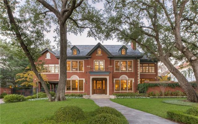 4224 Armstrong Parkway, Highland Park, TX 75205 (MLS #13980649) :: Robbins Real Estate Group