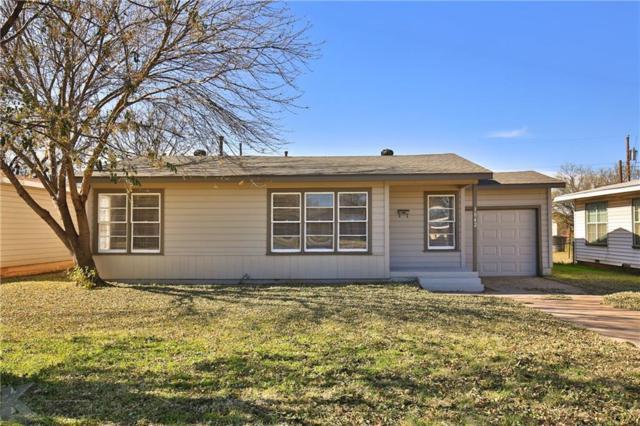 1042 S Crockett Drive, Abilene, TX 79605 (MLS #13980783) :: The Rhodes Team