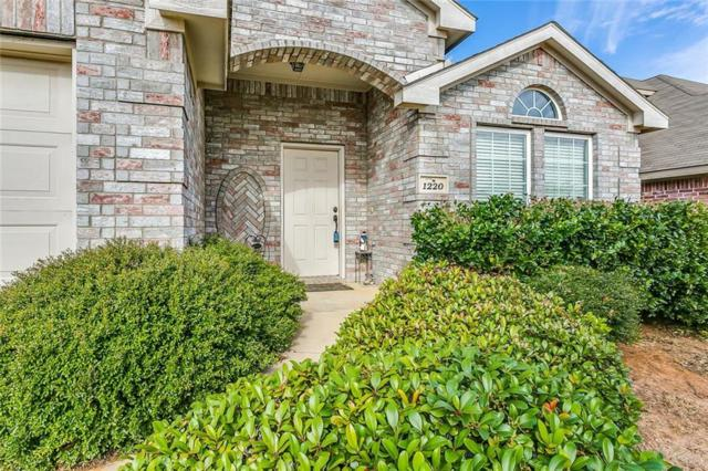 1220 Boxwood Drive, Crowley, TX 76036 (MLS #13981573) :: The Mitchell Group