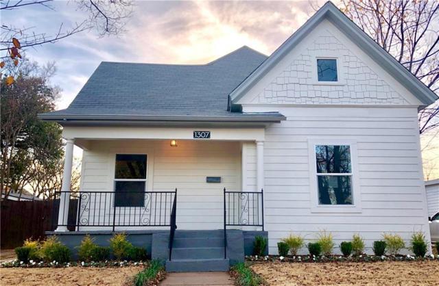 1307 N Calhoun Street, Fort Worth, TX 76164 (MLS #13981727) :: The Real Estate Station