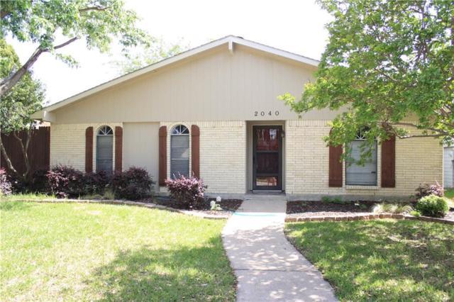 2040 Ash Hill Road, Carrollton, TX 75007 (MLS #13981771) :: Kimberly Davis & Associates