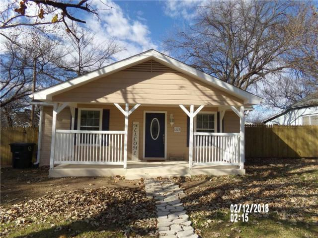 1225 E Chambers Street, Cleburne, TX 76031 (MLS #13981864) :: The Heyl Group at Keller Williams