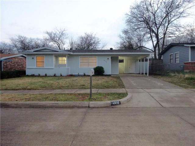 4416 Carol Avenue, Fort Worth, TX 76105 (MLS #13981920) :: Robbins Real Estate Group