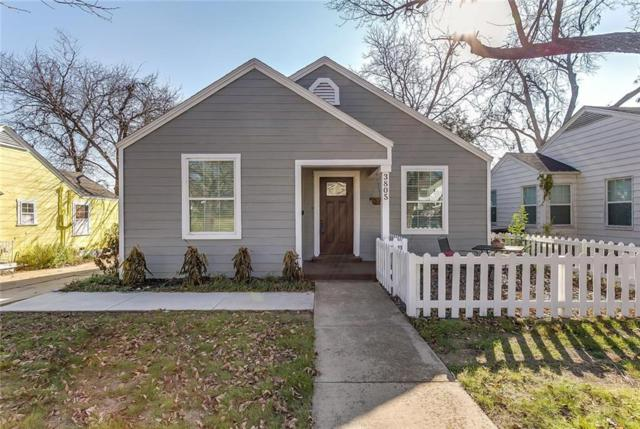 3805 Collinwood Avenue, Fort Worth, TX 76107 (MLS #13982573) :: The Mitchell Group