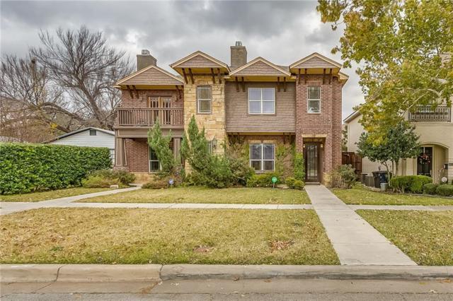 4612 Pershing Avenue, Fort Worth, TX 76107 (MLS #13982622) :: Team Tiller