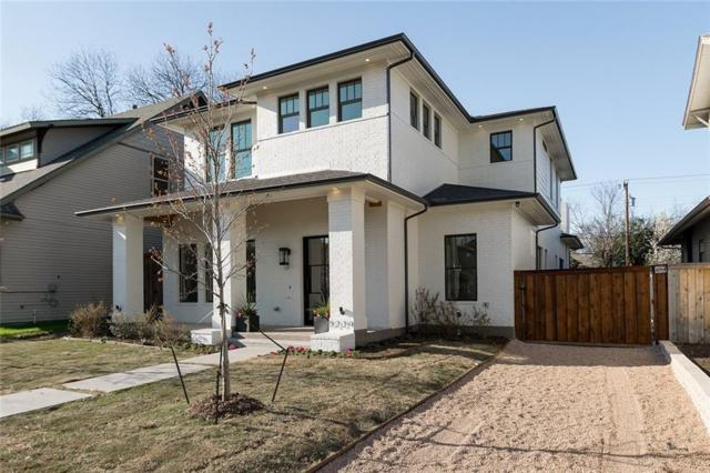 5339 Willis Avenue, Dallas, TX 75206 (MLS #13982950) :: RE/MAX Town & Country