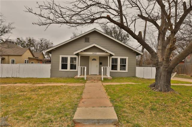 1432 S 5th Street, Abilene, TX 79602 (MLS #13983119) :: The Chad Smith Team