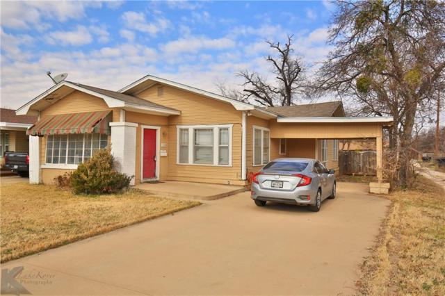 1826 Idlewild Street, Abilene, TX 79602 (MLS #13983189) :: The Heyl Group at Keller Williams