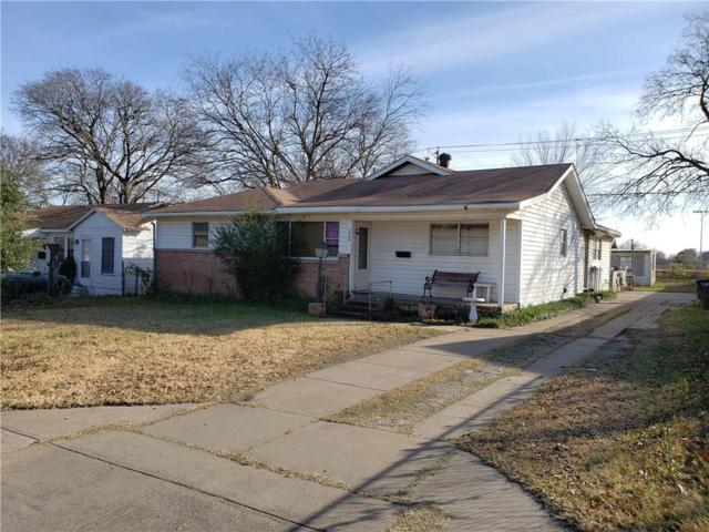 1908 36th Street, Fort Worth, TX 76106 (MLS #13983401) :: The Chad Smith Team