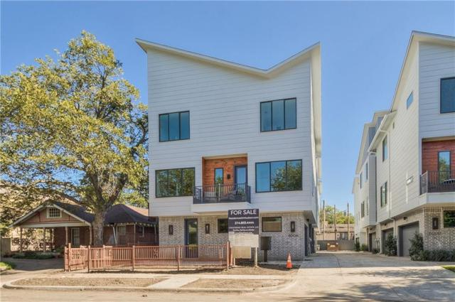 6004 Hudson Street #103, Dallas, TX 75206 (MLS #13983879) :: The Mitchell Group