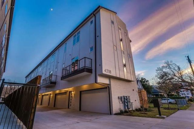 4218 Roseland Avenue #103, Dallas, TX 75204 (MLS #13984193) :: The Sarah Padgett Team