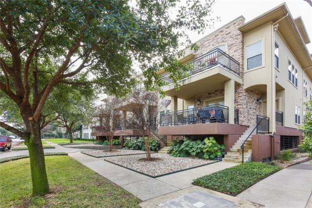 4319 Bowser Avenue #104, Dallas, TX 75219 (MLS #13985106) :: The Heyl Group at Keller Williams