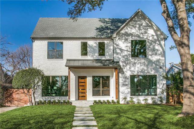 4636 Arcady Avenue, Highland Park, TX 75209 (MLS #13985422) :: Robbins Real Estate Group