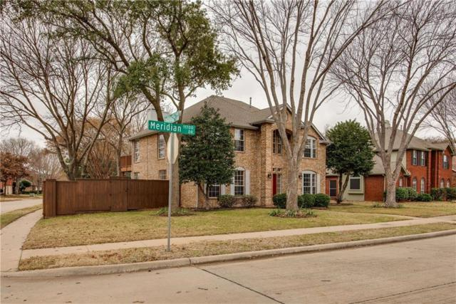 11713 Meridian Drive, Frisco, TX 75035 (MLS #13985435) :: Frankie Arthur Real Estate