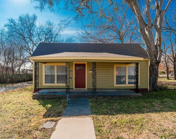 111 Main Street, Haslet, TX 76052 (MLS #13985500) :: Hargrove Realty Group