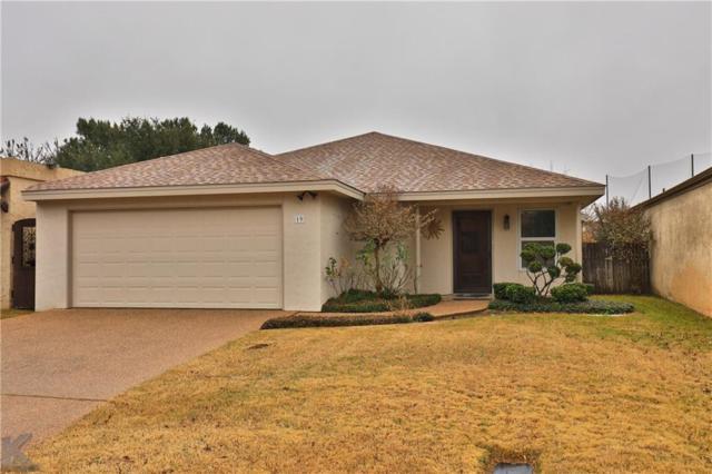 19 Tamarisk Circle, Abilene, TX 79606 (MLS #13986660) :: Charlie Properties Team with RE/MAX of Abilene