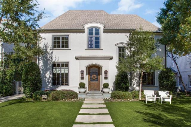 4328 Purdue Avenue, University Park, TX 75225 (MLS #13986844) :: The Real Estate Station