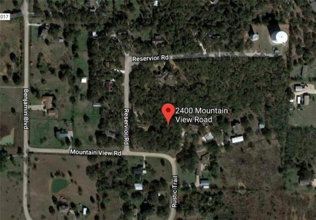 2400 Mountain View Road, Joshua, TX 76058 (MLS #13986848) :: The Heyl Group at Keller Williams