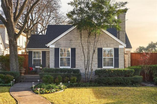 5500 W Amherst Avenue, Dallas, TX 75209 (MLS #13986947) :: Charlie Properties Team with RE/MAX of Abilene
