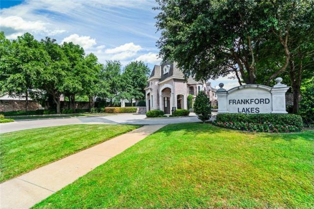 18201 Frankford Lakes Circle, Dallas, TX 75252 (MLS #13987093) :: Kimberly Davis & Associates