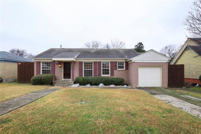 5012 Thrush Street, Dallas, TX 75209 (MLS #13987210) :: Van Poole Properties Group