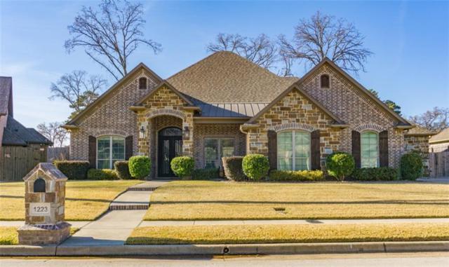 1223 Cambridge Bend, Tyler, TX 75703 (MLS #13988441) :: Kimberly Davis & Associates