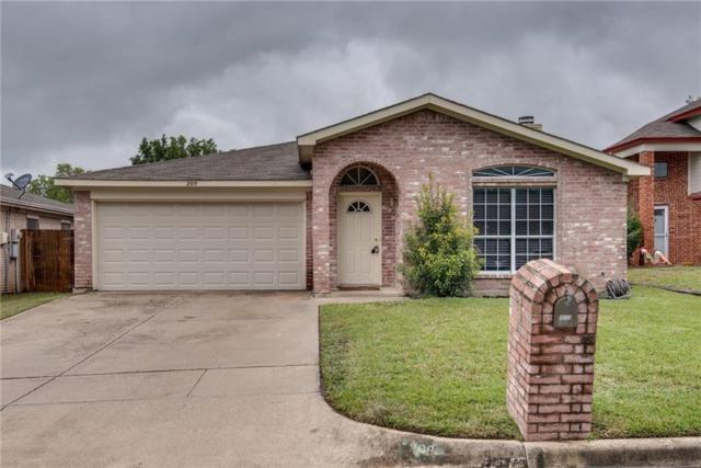 209 Colt Lane, Keller, TX 76248 (MLS #13988446) :: The Hornburg Real Estate Group