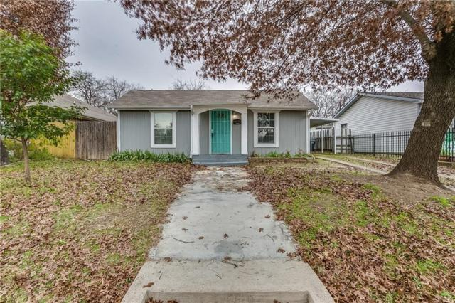 3518 N Pecan Street, Fort Worth, TX 76106 (MLS #13988929) :: The Mitchell Group