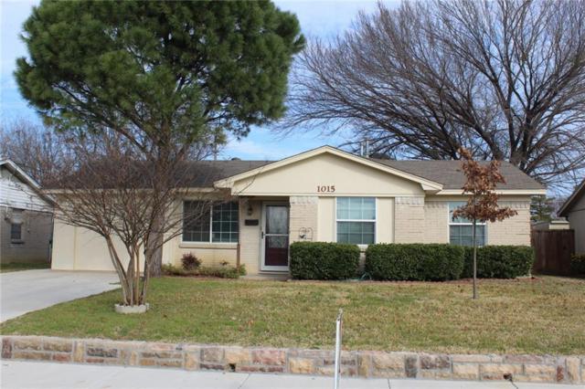 1015 Osceola Trail, Carrollton, TX 75006 (MLS #13989049) :: Team Tiller