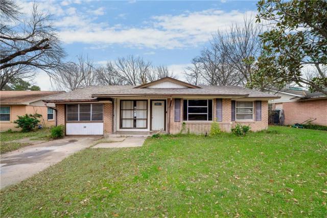 1821 Terry Drive, Grand Prairie, TX 75051 (MLS #13989191) :: The Hornburg Real Estate Group