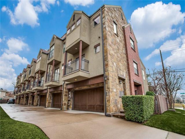 5747 Prospect Avenue H, Dallas, TX 75206 (MLS #13989238) :: The Hornburg Real Estate Group