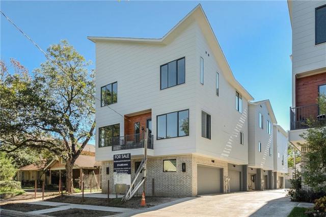 6004 Hudson Street #105, Dallas, TX 75206 (MLS #13989325) :: The Mitchell Group