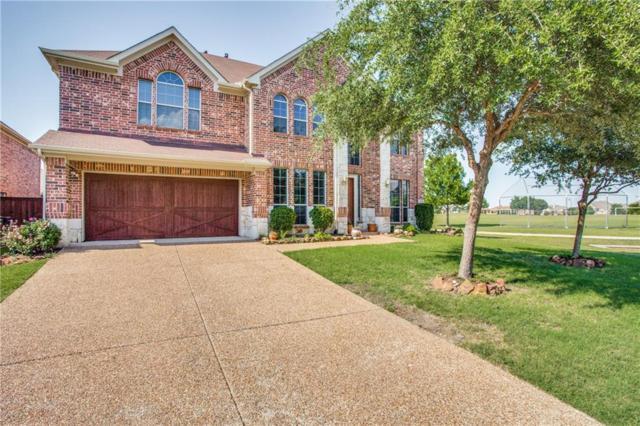 10028 Promontory Drive, Frisco, TX 75035 (MLS #13989904) :: Van Poole Properties Group