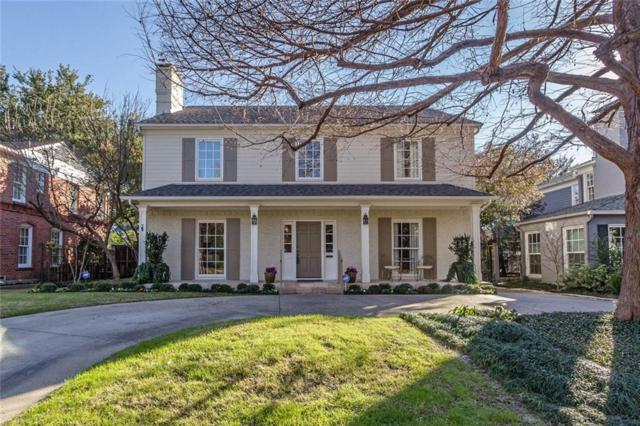 4681 Fairfax Avenue, Highland Park, TX 75209 (MLS #13991403) :: Robbins Real Estate Group
