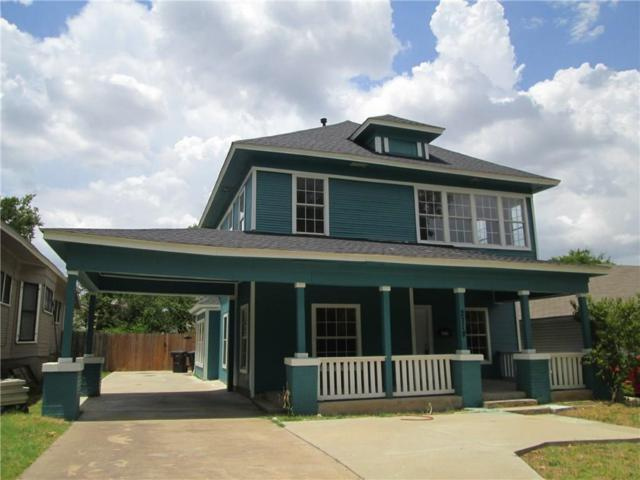 2718 S Jennings Avenue, Fort Worth, TX 76110 (MLS #13991457) :: The Real Estate Station