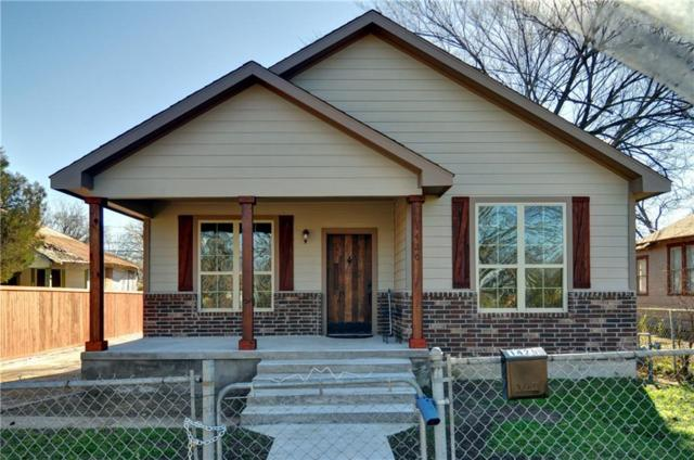 1420 E Myrtle Street, Fort Worth, TX 76104 (MLS #13992146) :: The Heyl Group at Keller Williams
