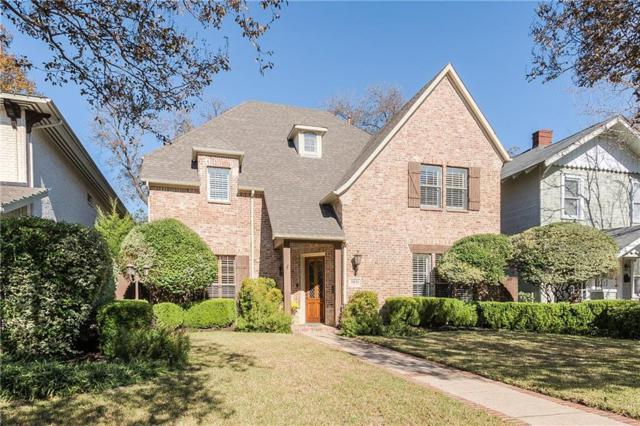 5831 Velasco Avenue, Dallas, TX 75206 (MLS #13992545) :: RE/MAX Landmark
