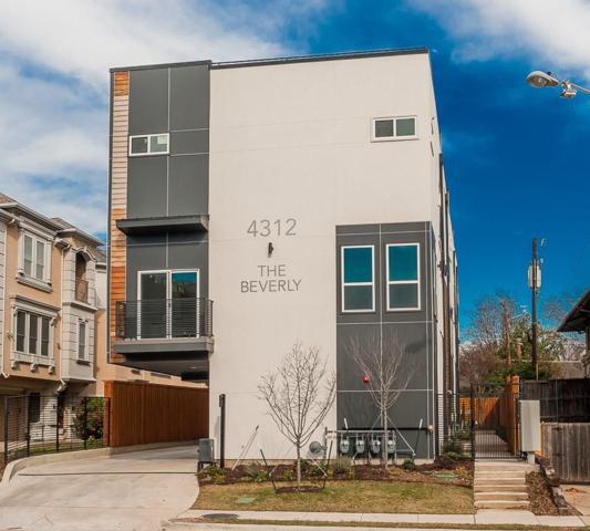 4312 Cedar Springs Road #104, Dallas, TX 75219 (MLS #13992629) :: The Heyl Group at Keller Williams
