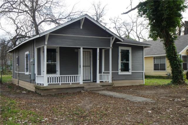 2634 Carpenter Avenue, Dallas, TX 75215 (MLS #13993016) :: Robbins Real Estate Group