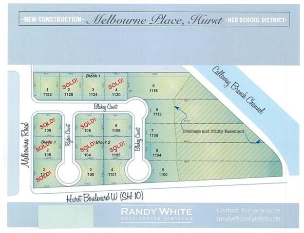 1100 Blakey Court, Hurst, TX 76053 (MLS #13993032) :: The Heyl Group at Keller Williams
