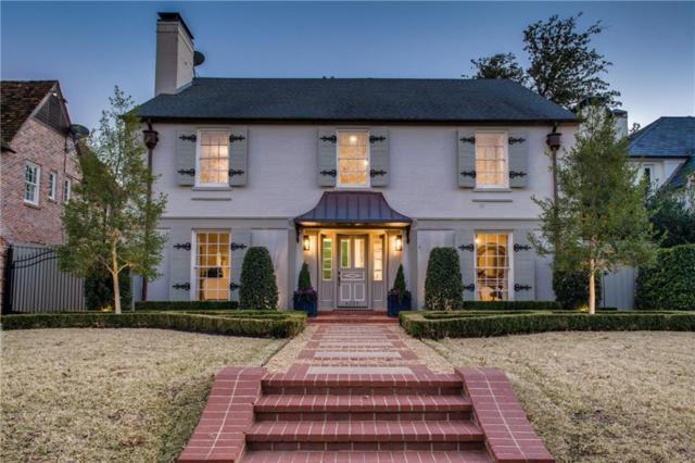 4305 Westway Avenue, Highland Park, TX 75205 (MLS #13993565) :: Robbins Real Estate Group