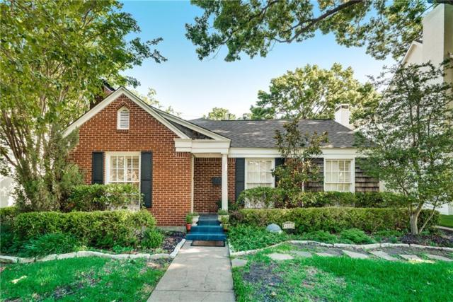 4308 Amherst, University Park, TX 75225 (MLS #13995238) :: The Heyl Group at Keller Williams
