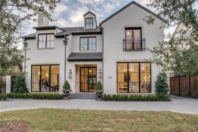 4321 Fairfax Avenue, Highland Park, TX 75205 (MLS #13995593) :: Robbins Real Estate Group