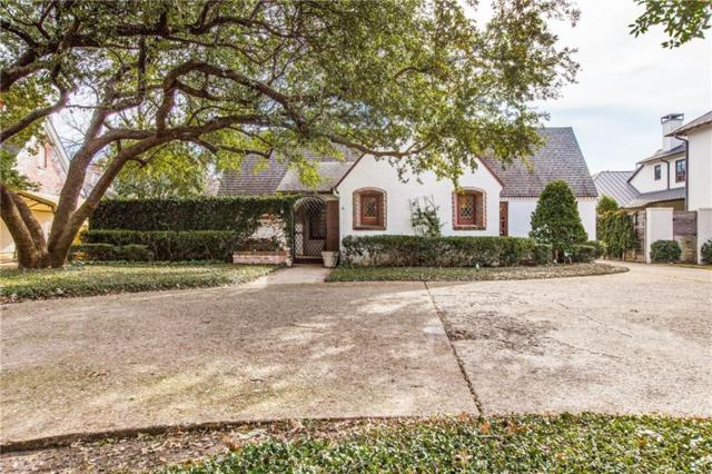 3633 Southwestern Blvd, University Park, TX 75225 (MLS #13996051) :: Robbins Real Estate Group