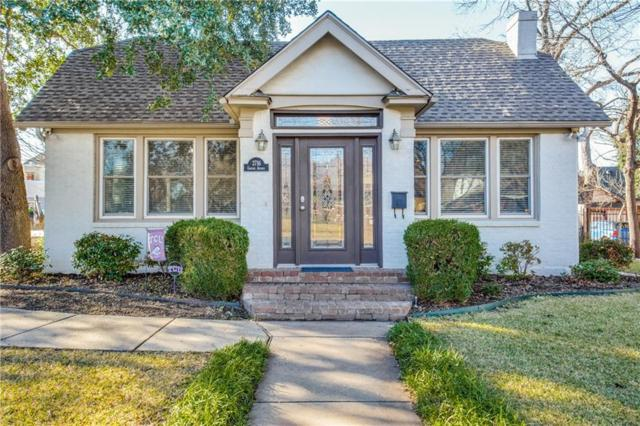 2716 Greene Avenue, Fort Worth, TX 76109 (MLS #13996064) :: The Mitchell Group