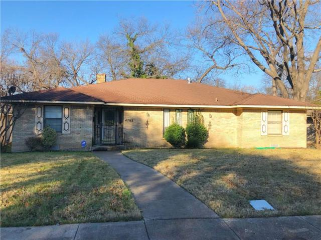 4703 Ashbrook Road, Dallas, TX 75227 (MLS #13996853) :: The Mitchell Group