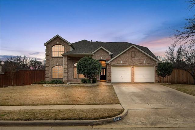 1213 Cherry Brook Way, Flower Mound, TX 75028 (MLS #13997704) :: Real Estate By Design