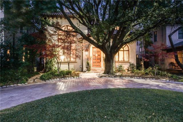 4912 Abbott Avenue, Highland Park, TX 75205 (MLS #13997874) :: Robbins Real Estate Group