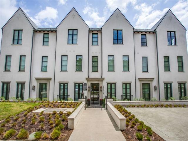 4502 Abbott Avenue #212, Highland Park, TX 75205 (MLS #13998210) :: The Heyl Group at Keller Williams